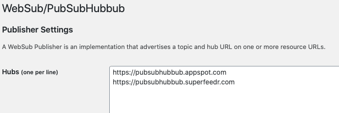 WebSubPubSubHubbub-5 SEO対策